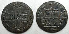 1828   Svizzera Switzerland  Canton de Vaud  1 Batz