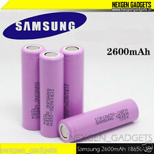 Genuine Samsung 2600mAh 3.7V 18650 Rechargeable Lithium Battery - Pink