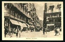 Napoli : Via Roma - non viaggiata indicativamente anni '20