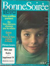 ▬► Bonnes soirées 2605 de 1972 ERIC DAMAIN_DANYEL GERARD_SYLVIE VARTAN_SAPRITCH