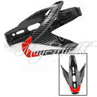OFF-Road Mountain Bike bicycle Cycling Carbon fiber Water Bottles Holder Cage O