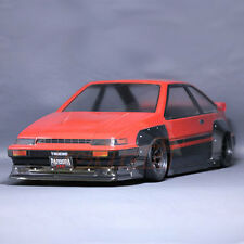 Pandora RC Cars Toyota AE86 TRUENO-N2 1:10 Drift 199mm Clear Body Set #PAB-102