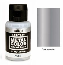 VAL77703 Metal Color - Duraluminium 32ml   VALLEJO AIRBRUSH COLORS
