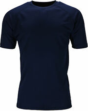 New Mens Breathable T Shirt Wicking Cool Dry Running Gym Top Sports Performance