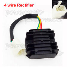 4 Wire Male Plug Voltage Regulator Rectifier For GY6 Scooter Honda Motorcycle