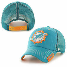 Miami Dolphins '47 Brand Turner Clean Up Adjustable Hat - Aqua - NFL