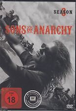 Sons of Anarchy - 3 Staffel  - 4 DVD Box - Verleihversin - Neu u. OVP - FSK 18