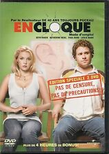 2 DVD ZONE 2 COLLECTOR--EN CLOQUE MODE D'EMPLOI--ROGEN/HEIGL/RUDD/MANN