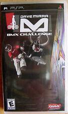 Dave Mirra BMX Challenge (brand new, still sealed ) psp game