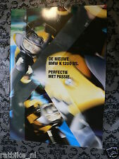FN633 BMW BROCHURE K1200 RS 1997  BIG SIZE ONLY POSTAGE TUBE OR PACKAGE K1200RS
