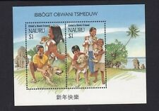 Nauru Child's Best Friend (Dogs) Mini Sheet 1994