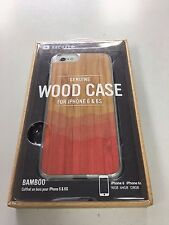 New Recover Real Bambo Wood Case for iPhone 6 6S 4.7""