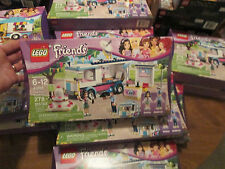 LEGO FRIENDS HEARTLAKE NEWS VAN 41056 BUILDING TOY MINIFIGURES EMMA & ANDREW