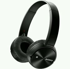 Sony  MDR-ZX330BT Wireless Bluetooth Headphones-Black. FREE POSTAGE.