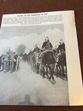 M8-1 Ephemera 1938 Ww1 Picture 1914 Zelobes French Cuirassiers