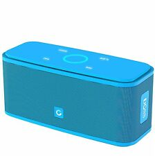DOSS Soundbox Wireless Bluetooth V4.0 Portable Speaker (Blue) NEW
