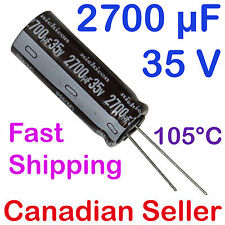 2700uF 35V 16x40mm Nichicon PM Extremely Low Impedance For PC TV LCD AUDIO