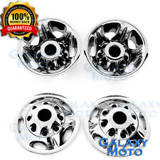 11-16 GMC Sierra 3500 DUALLY ONLY Chrome Wheel Simulator Liner+Center Caps Cover