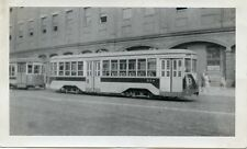5F500B RP 1940/50s? TARS THIRD AVENUE RAILWAY CAR #554 BROADWAY NYC NY