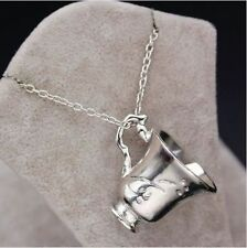 Once Upon a Time Belle Chipped Tea Cup Necklace BEAUTY AND THE BEAST UK