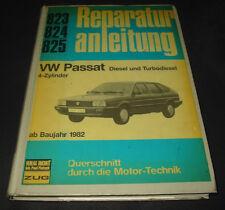 Reparaturanleitung VW Passat 32B B2 mit 4 Zylinder Diesel Turbo Motor ab 1982!