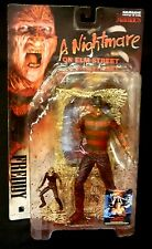 McFarlane Toys Movie Maniacs Super Bloody Freddy Krueger Action Figure New 1998