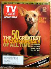 Large TV GUIDE July 3-9 1999 50 Greatest Commercials/Got Milk? Austin Powers