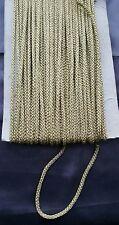 cord piping sari blouse tie tassel latkan string light gold thick braid curtain