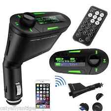 In-Car Wireless FM Transmitter USB SD Card Slot Radio MP3 Player Music Universal