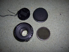 USED Canon EF 50mm f/1.8 II Lens UV Fiter+2 caps, Very Good+2%Ebate