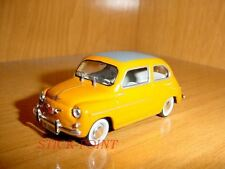 SEAT 600D 600 D CABRIO 2nd SERIES FIAT 1969 1:43