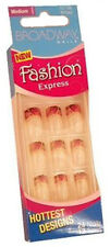 24 Broadway Fashion Express Nails,Medium Length French Nail,Chic Style,New