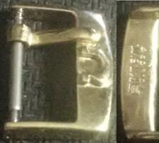 Original Omega Buckle mod 1 Fibbia 14mm inner YGP from '40/50 Mint Cond L@@K
