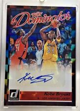 Kobe Bryant 2015-16 Donruss Elite Dominator BLACK Autograph Auto #d 1/1 - LAKERS