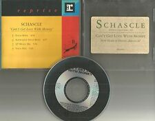 SCHASCLE Can't get love with Money 4TRX REMIXES &DUB& 12 INCH PROMO DJ CD single
