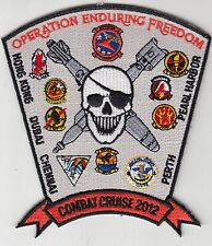 VFA-81 SUNLINERS COMBAT CRUISE 2012 PATCH