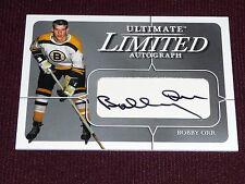 03-04 BAP Ultimate BOBBY ORR Limited Autograph 14/19 Extremely Rare L@@K Signed