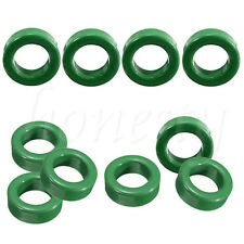 10 Pcs 14mm x 8mm x 6mm Round Green Transformers Toroid Ferrite Cores New