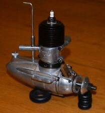 1937 Syncro Ace .56 ignition model airplane engine vintage Art Deco spark tank