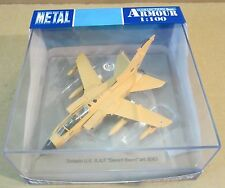 "Armour Tornado U.K. Royal Air Force ""Desert Storm"" Aircraft Die-Cast 1:100 NEW"