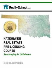 NATIONWIDE REAL ESTATE PRE-LICENSING COURSE: Specializing in Oklahoma (2014,...