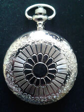 10 X POCKET WATCHES NO.8 STAINLESS STEEL  HUNTER. IDEAL GIFT/COLLECTABLE
