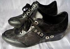 SCARPE B & D scarpe da GINNASTICA N.38/38,5  Colore nero