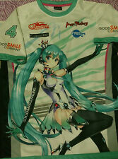 Good Smile Racing & Team UKYO 2013 Racing Miku Jersey XL Size