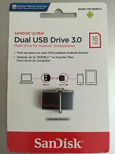SanDisk 16GB OTG Dual USB 3.0 Pendrive Ultra OTG - LATEST MODEL HIGH SPEED