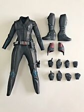 1/6 Hot Toys - MMS 288 - Age of Ultron - Black Widow Clothing Hands Shoes BIB