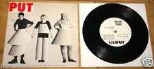 "LILIPUT ~ EISIGER WIND b/w  WHEN THE CAT'S ~ UK ROUGH TRADE INDIE PUNK 7"" 1981"