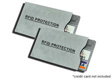 10 RFID Credit Card Protection & Identity Theft Protection Sleeves. New!