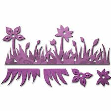 SPELLBINDERS FLOWER FIELD CUTTING DIE D-LITES - NEW 2015