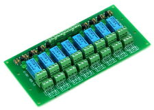 8 DPDT Signal Relay Module Board, DC12V Version, for PIC Arduino 8051 AVR MCU.